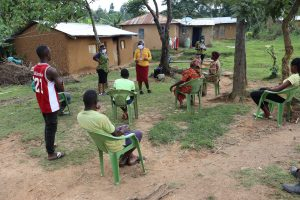 The Water Project:  Participants Social Distanced