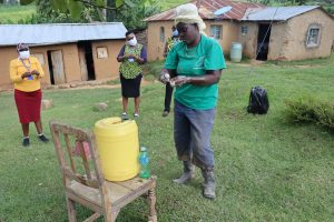 The Water Project:  Use Of Soap In Handwashing Very Critical In Neutralizing Virus