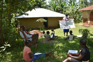 The Water Project:  Use Of Charts With Corona Cautions At The Training