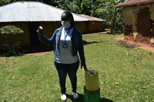 The Water Project:  Using Readily Found Jerrycans To Make Handwashing Stations