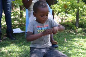 The Water Project:  A Child Washing Hands At The Training
