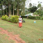 The Water Project: Sichinji Community, Kubai Spring -  Margaret Mbone Outside Her Home