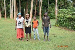 The Water Project:  Margaret Mbone With Her Kids