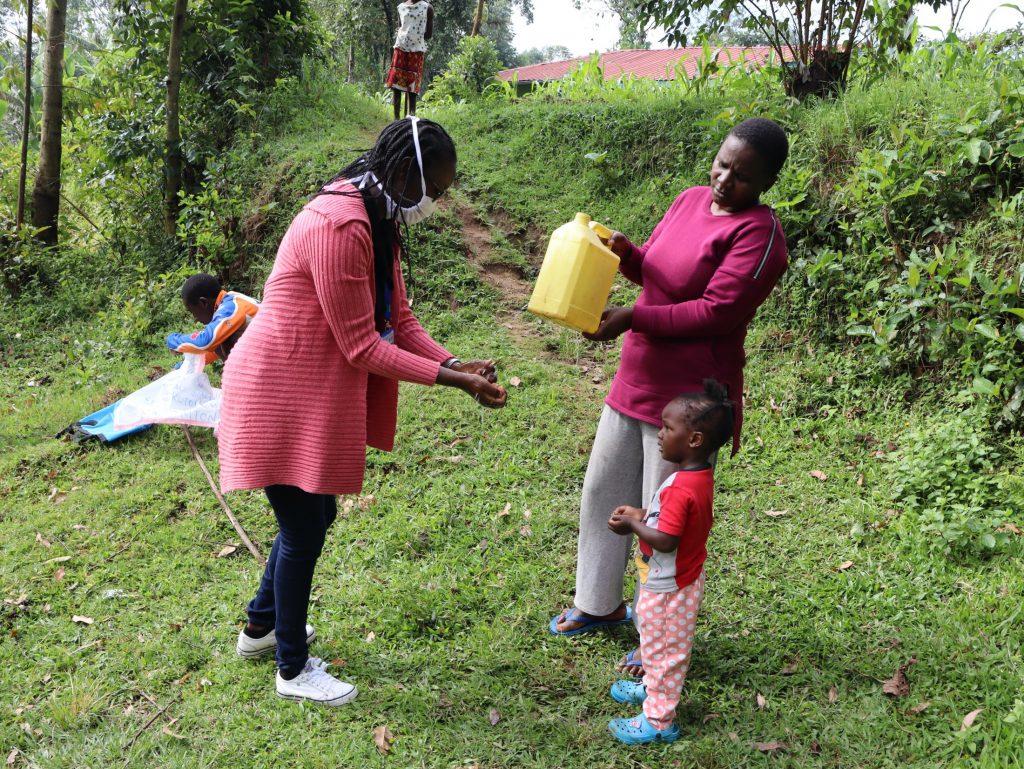 The Water Project : covid19-kenya4372-handwashing-demonstration