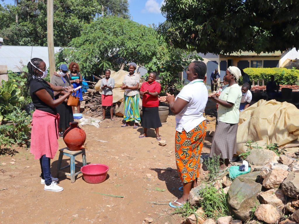 The Water Project : covid19-kenya4419-handwashing-demonstration