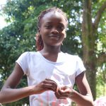 The Water Project: Mwinaya Community, Severe Spring -  Handwashing