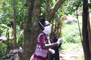 The Water Project:  Ms Shigali On The Frontline War Against The Coronavirus
