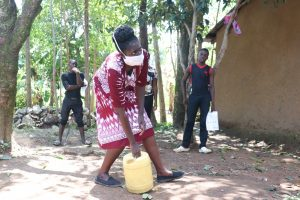 The Water Project:  Using Locally Available Materials In Making Handwashing Points