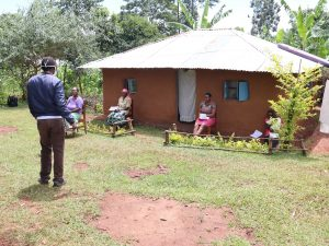 The Water Project:  Conducting Training At Kivumbi Spring