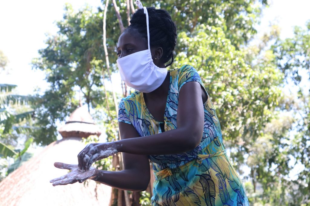 The Water Project : covid19-kenya4714-handwashing-should-be-thorough