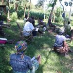 The Water Project: Eshiakhulo Community, Omar Sakwa Spring -  Training In Session
