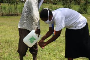 The Water Project:  Ensure That You Rinse Your Hands With Clean Running Water