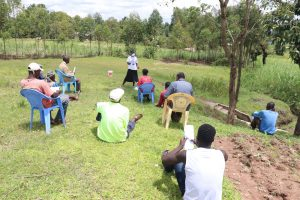 The Water Project:  Training In Session At Shikanga Spring