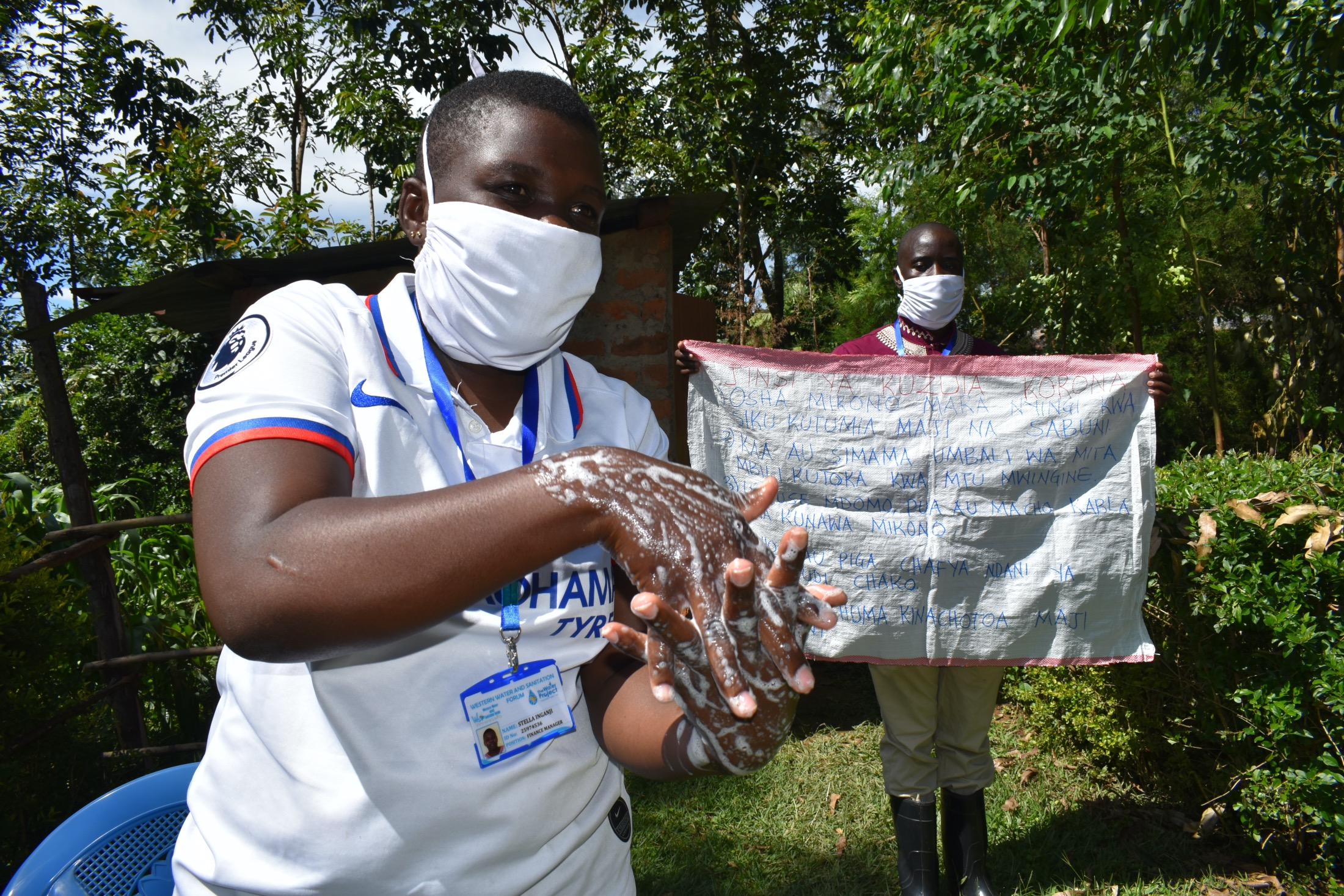 The Water Project : covid19-kenya4750-handwashing-with-soap-and-flowing-water-is-key-in-coronavirus-fight
