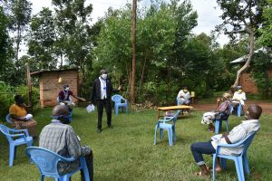 The Water Project:  Social Distancing Implemented At The Training