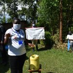 The Water Project: Mkunzulu Community, Museywa Spring -  Stella Inganji Conducting Sensitization Training