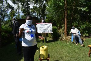 The Water Project:  Stella Inganji Conducting Sensitization Training