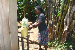 The Water Project:  A Homemade Handwashing Point