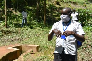 The Water Project:  Trainer Kipchoge On The Frontline