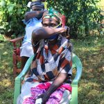 The Water Project: Mtao Community, Tifina Odari Spring -  Coughing Into The Elbow Reduces Spread Of Virus