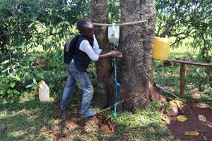 The Water Project:  Installing Handwashing Point In The Community