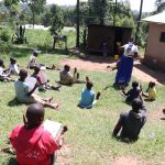 The Water Project: Bukhakunga Community, Khayati Spring -  Ongoing Covid Sensitization