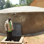 The Water Project: Bulukhombe Primary School -  The Groundskeeper At The Drawing Point