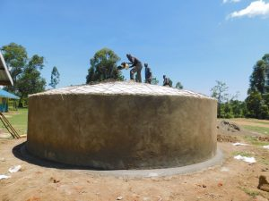 The Water Project:  Dome Installation