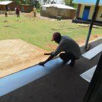 The Water Project: Mukoko Baptist Primary School -  Gutters Preparation