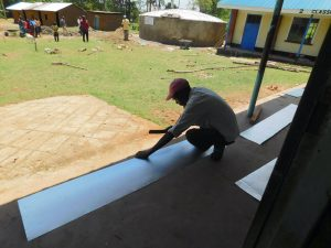 The Water Project:  Gutters Preparation