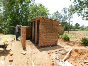 The Water Project:  Vip Latrine Construction