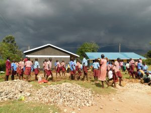 The Water Project:  Students Help Deliver Stones Before Schools Closed