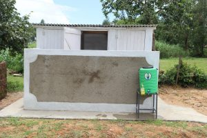 The Water Project:  Girls Latrines And Handwashing Point