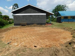 The Water Project:  Foundation Laid For The Tank