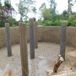 The Water Project: Mukoko Baptist Primary School -  Pillar Construction