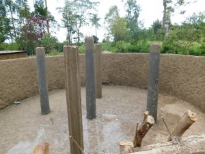 The Water Project:  Pillar Construction