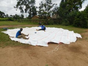 The Water Project:  Dome Setting Preparations