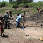 The Water Project: Mukhonje Community, Mausi Spring -  Fencing