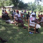 The Water Project: Mukhonje Community, Mausi Spring -  Handwashing Training