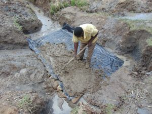 The Water Project:  Foundation Slab Laying
