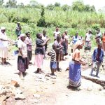 The Water Project: Mukhonje Community, Mausi Spring -  Onsite Training