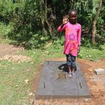 The Water Project: Mukhonje Community, Mausi Spring -  Emma Celebrating A Sanplat