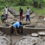 The Water Project: Mukhonje Community, Mausi Spring -  Plaster Works