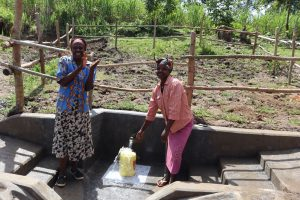 The Water Project:  Community Members Posing