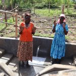 The Water Project: Mukhonje Community, Mausi Spring -  Old Women At The Spring