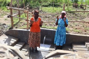 The Water Project:  Old Women At The Spring