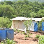 The Water Project: Nzimba Community -  Construction Materials