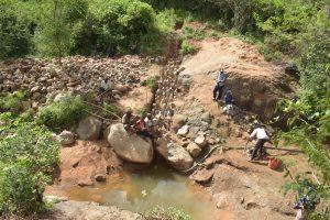 The Water Project:  Dam Construction Progress