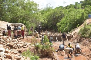 The Water Project:  Dam Wall Progress