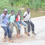 The Water Project: Nzimba Community -  Thumbs Up For A New Dam